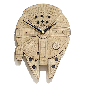 Falcon wall clock 300 x 300