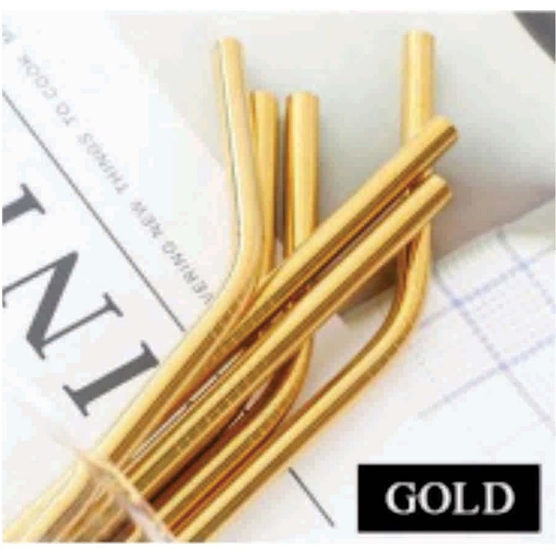 Steel Straw set - Minimum 20 units